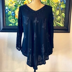Greater Good S/M BoHo top
